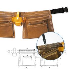 Carteras y cinturones de trabajo